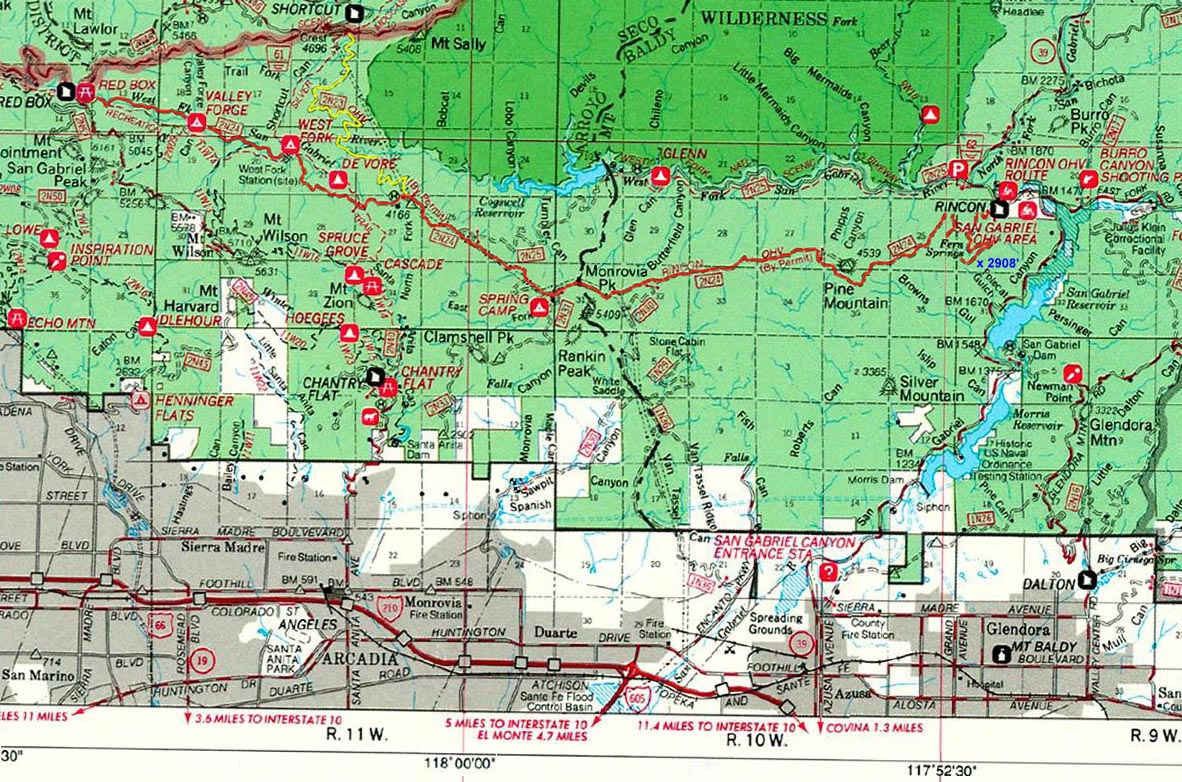 Forest Service: Forest Service Road Maps