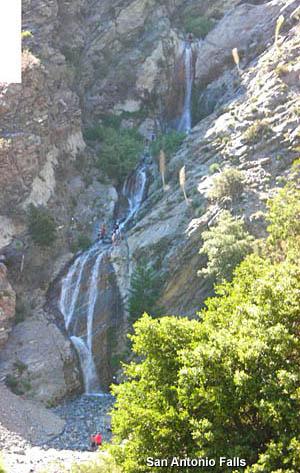Dan S Hiking Pages San Antonio Falls
